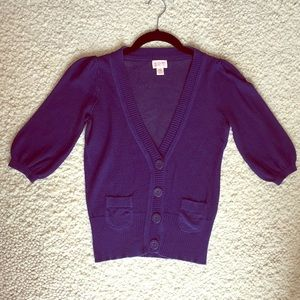 $2 Promo SALE EUC cropped knitted cardigan